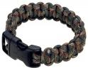 Boker 8 Inch Woodland Camo Survival Paracord Bracelet