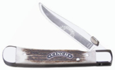 Boker Cinch CI4715 Trapperliner Sambar Stag Handle