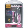 Browning Pink Microblast Flashlight/Knife Combo #371-2118