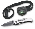 Browning Microblast Headlamp & knife 371-1220 Stealth