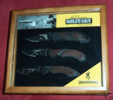Browning 321-198 Military Triple Tribute Boxed Set