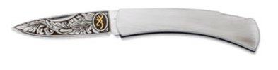 Browning Classic Folder - Wood Pocket Knife - 322-334