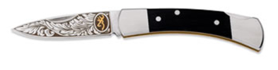 Browning Classic Folder - Wood Pocket Knife - 322-335