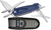 Buck 732BLS X-Tract Fin Blue Fishing Multitool