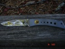 Camillus Rare CI522 Silver Falcon Locking Knife