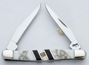 Case Arctic Ice Tiny Muskrat knives 6610
