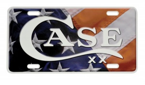 Case USA Flag License Plate CA50128
