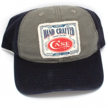 Case Canvas Bl/gray Ball Cap Ca50170