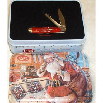 Ca75340 62154 SS DK RED TINY TRAPPER