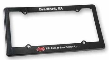 Case Wr Case License Plate Holder knives 50053