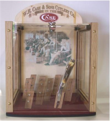 Case 61944 Magnetic Locking Display Case Holds 9 Knives