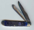 Case 01058 Blue Trapper Knife Salute To Freemasonry