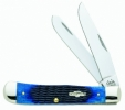 Case 6254 SSNAVY BLUE BONE TRAPPER - 2800