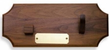 Case WALNUT PRESENTATION PLAQUE - 317