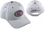 Case CAP BALL WHITE WITH RED LOGO - 50122