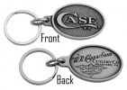 Case KEY RING PEWTER CASE LOGO - 50126