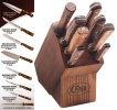 Case 9 PC CUTLERY BLOCK & KNIFE SET - 10249