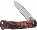 Case Pink Camo Case Caliber® - Lightweight Synthetic Lockback (LT1225L SS) - 18300