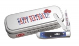 Case BLUE MINI TRAP HAPPY BIRTHDAY - 25671