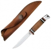 Case Leather Hunter (M3FINN SS) w/Leather Sheath  - 379