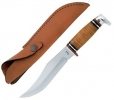 Case 386 Fixed Blade Knife w/ Leather Washer Handle