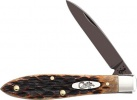 Case Antique Bone Tear Drop (TB61028 SS) with Black PVD Coated Blades - 49974