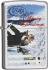 Case CHRISTMAS LIGHTER SNOW SCENE - 50201
