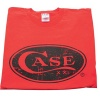 Case RED T-SHIRT HAND-CRAFT LOGO L - 50207