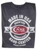 Case T-SHIRT CHARCOAL SMALL - 52465