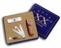 Case Amber Hunter Knife Gift Set 6019