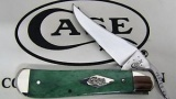 Case Painted Desert - Smooth Emerald Green Bone RussLock (61953L SS) - 63118