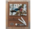 Case Ducks Unlimited Smooth Natural Bone Trapper (6254 SS) with 3D Image in Shadowbox - 7307