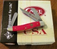 Case BSA ROUGH RED DEL MED STOCKMAN - 7999