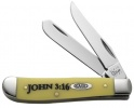 Case 3207 SS JOHN 3:16 MINI TRAPPER - 8850