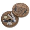 Case 9688 Rutherford B Hayes Presidential Trapper Set
