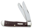 Case 019 6254 SS Brown Synthetic Trapper Knife