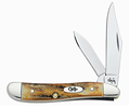 Case 048 5220SS Peanut India Stag HandleTru-Sharp