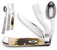 Case Hobo Amber Bone HOBO Knife 00052