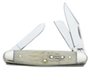 10491 Standard Knife Medium Stockman Jigged Bone
