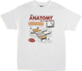 Case ANATOMY OF A KNIFE T SHIRT XL - 50074