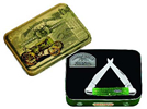 Case John Deere 5838 Green Bone Muskrat Gift Tin