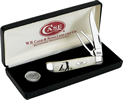 Case 6022 Mini Trapper Natural Bone Golf Knife