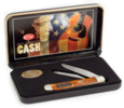 6790 Man In Black Trapper KnifeJohnny Cash Gift Tin