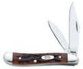 Case 6220 Chestnut Peanut Knife - 7006