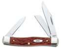 Case XX Chestnut Bone CV Medium Stockman Knife 7008