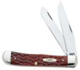 Case XX Chestnut Trapper Chestnut Bone Chrome Vanadium Knife #CA7011