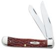 Case XX Chestnut Trapper Chestnut Bone Chrome Vanadium Knife #CA7011