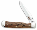 se John Wayne Signature Oak Trapperlock Pocket Knife 7466