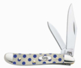 Case 6220 SS Blue Polka Dot Peanut Knife 08826