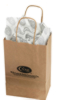 25 Case Gift Bags With Logo & Gift Tissue 9105